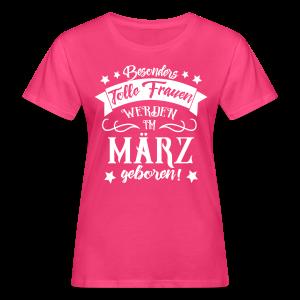 Frauen im März Geboren Geburtstag Spruch T-Shirts