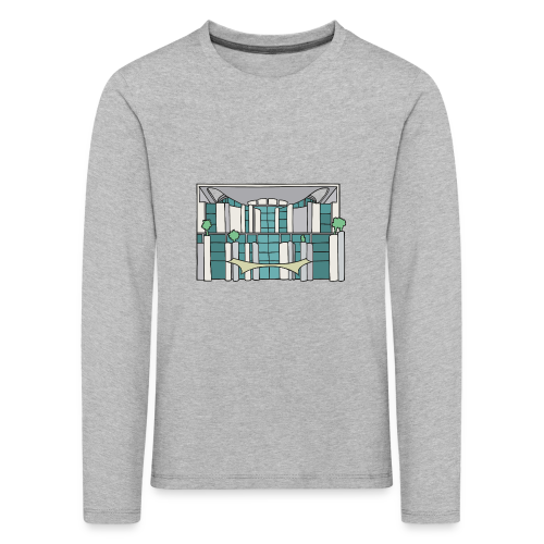 Kanzleramt in Berlin - Kinder Premium Langarmshirt