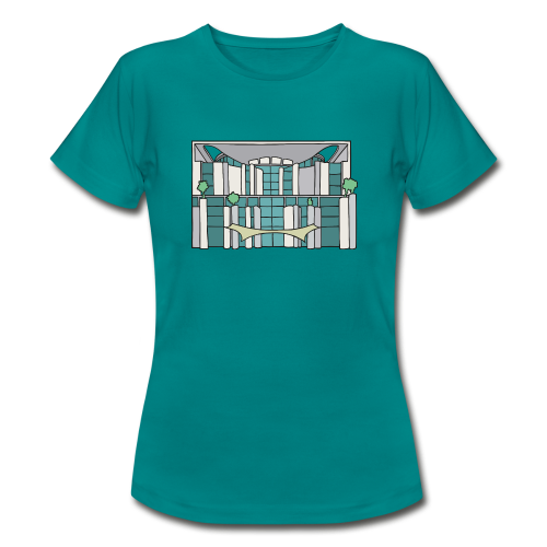 Kanzleramt in Berlin - Frauen T-Shirt