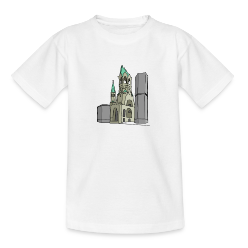 Gedächtniskirche BERLIN - Teenager T-Shirt