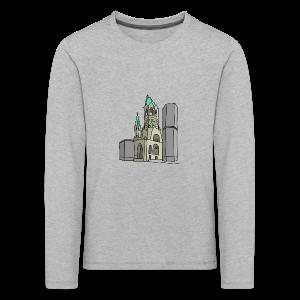 Gedächtniskirche BERLIN - Kinder Premium Langarmshirt