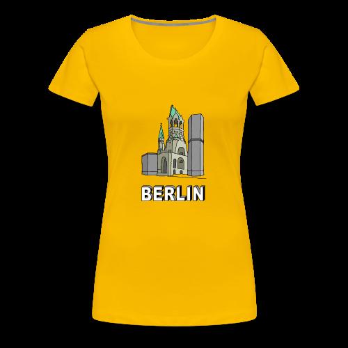 Gedächtniskirche BERLIN - Frauen Premium T-Shirt
