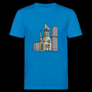 Gedächtniskirche BERLIN - Männer Bio-T-Shirt
