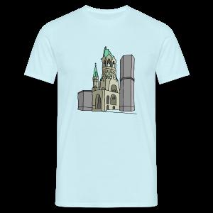 Gedächtniskirche BERLIN - Männer T-Shirt