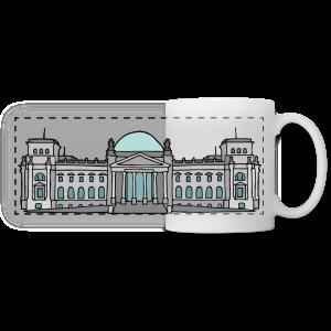 Reichstagsgebäude BERLIN - Panoramatasse