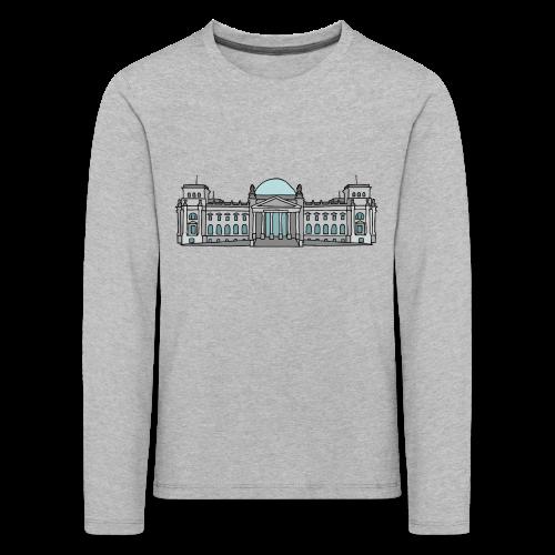 Reichstagsgebäude BERLIN - Kinder Premium Langarmshirt