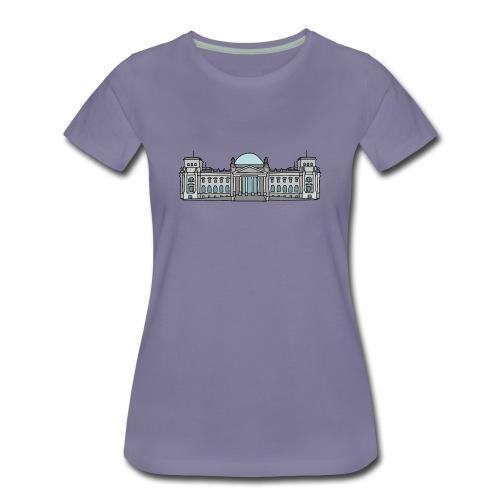 Reichstagsgebäude BERLIN - Frauen Premium T-Shirt