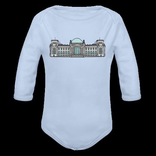 Reichstagsgebäude BERLIN - Baby Bio-Langarm-Body