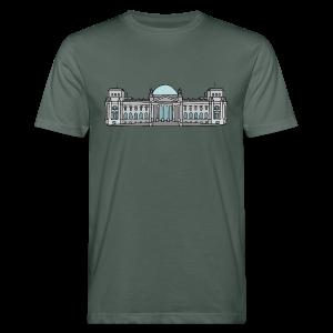 Reichstagsgebäude BERLIN - Männer Bio-T-Shirt