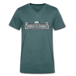 Reichstagsgebäude BERLIN - Männer Bio-T-Shirt mit V-Ausschnitt von Stanley & Stella