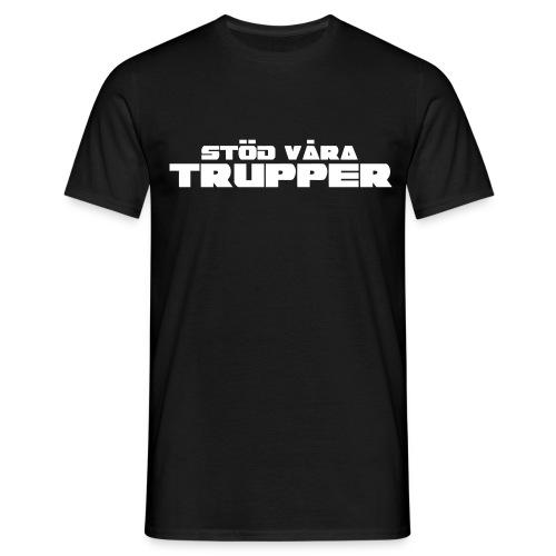 Stöd våra trupper - T-shirt herr