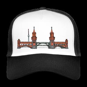 Oberbaumbrücke in Berlin - Trucker Cap