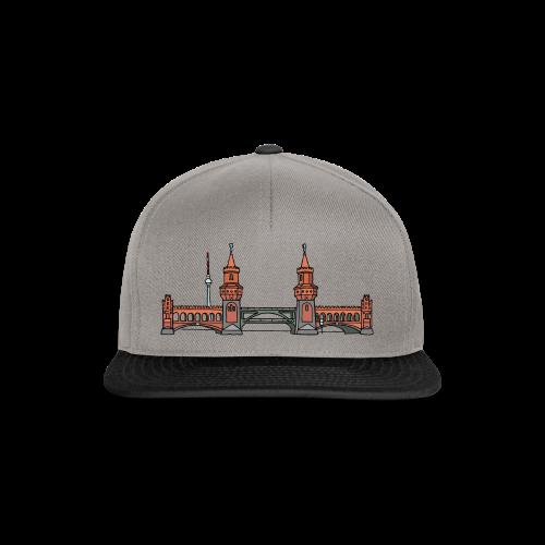 Oberbaumbrücke in Berlin - Snapback Cap