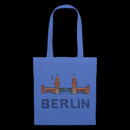 Oberbaumbrücke in Berlin - Stoffbeutel