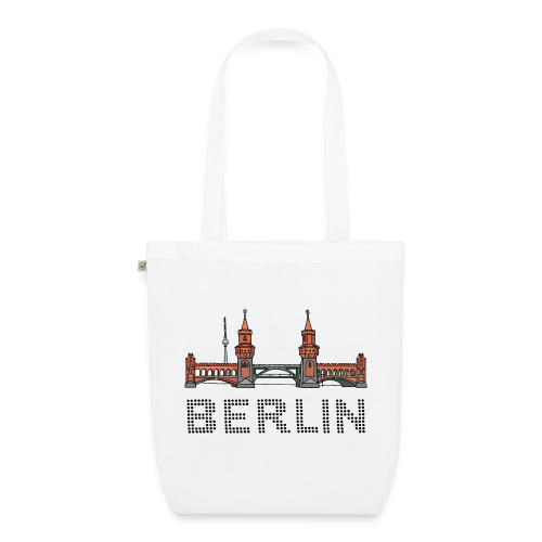 Oberbaumbrücke in Berlin - Bio-Stoffbeutel