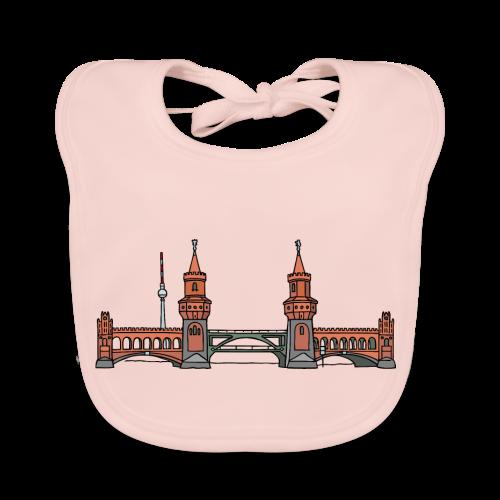 Oberbaumbrücke in Berlin - Baby Bio-Lätzchen
