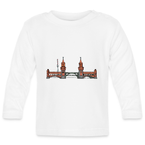 Oberbaumbrücke in Berlin - Baby Langarmshirt