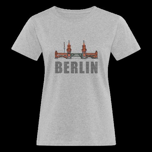 Oberbaumbrücke in Berlin - Frauen Bio-T-Shirt