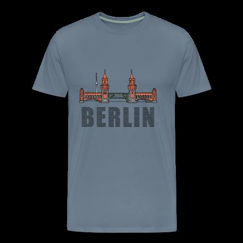 Oberbaumbrücke in Berlin - Männer Premium T-Shirt
