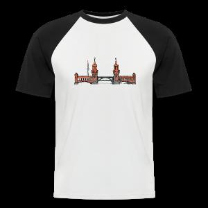 Oberbaumbrücke in Berlin - Männer Baseball-T-Shirt