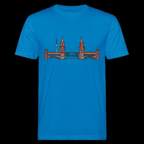 Oberbaumbrücke in Berlin - Männer Bio-T-Shirt