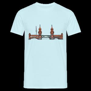 Oberbaumbrücke in Berlin - Männer T-Shirt