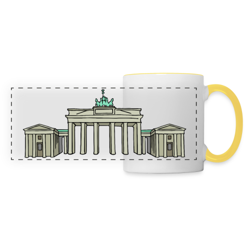 Brandenburger Tor BERLIN - Panoramatasse