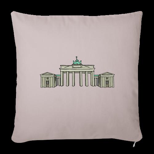 Brandenburger Tor BERLIN - Sofakissenbezug 44 x 44 cm