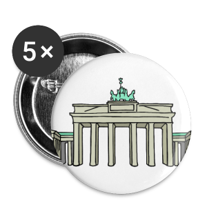 Brandenburger Tor BERLIN - Buttons mittel 32 mm