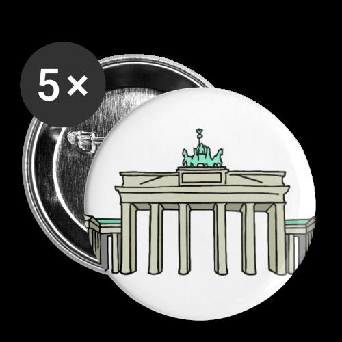 Brandenburger Tor BERLIN - Buttons mittel 32 mm