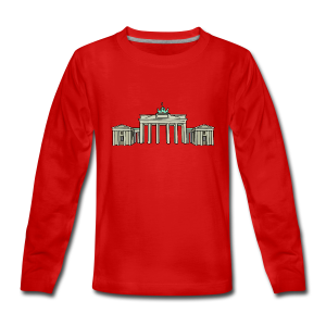 Brandenburger Tor BERLIN - Teenager Premium Langarmshirt