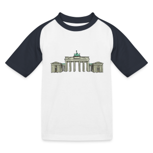 Brandenburger Tor BERLIN - Kinder Baseball T-Shirt