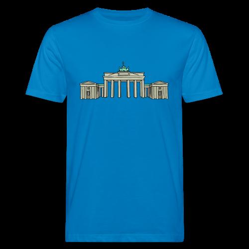 Brandenburger Tor BERLIN - Männer Bio-T-Shirt