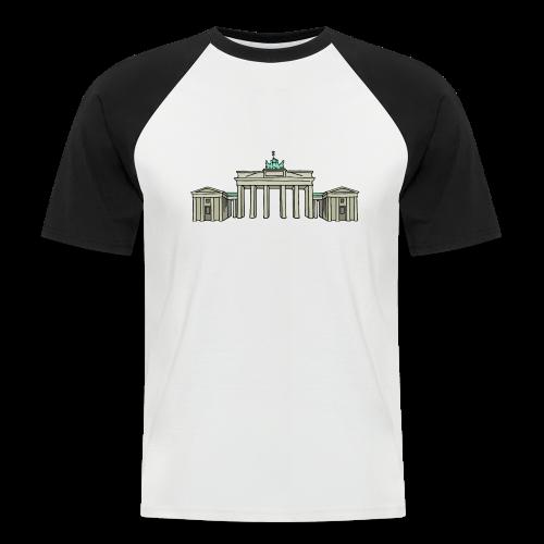 Brandenburger Tor BERLIN - Männer Baseball-T-Shirt