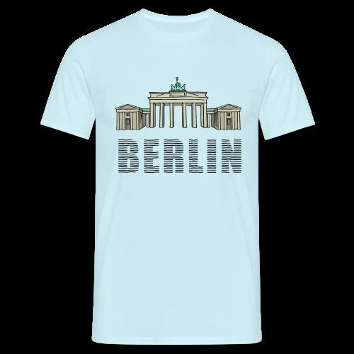 Brandenburger Tor BERLIN - Männer T-Shirt