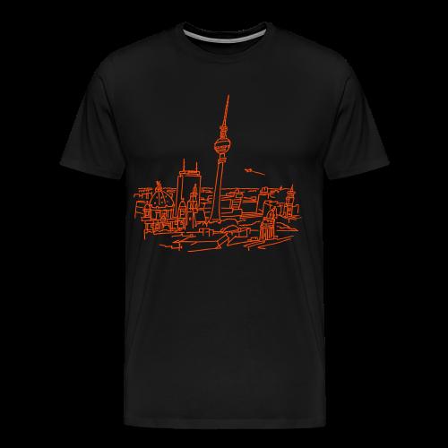 Berlin Panorama - Männer Premium T-Shirt
