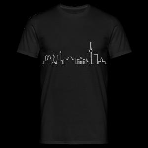 Skyline von Berlin - Männer T-Shirt