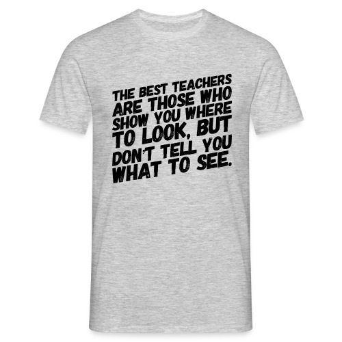 The best teachers - T-shirt herr