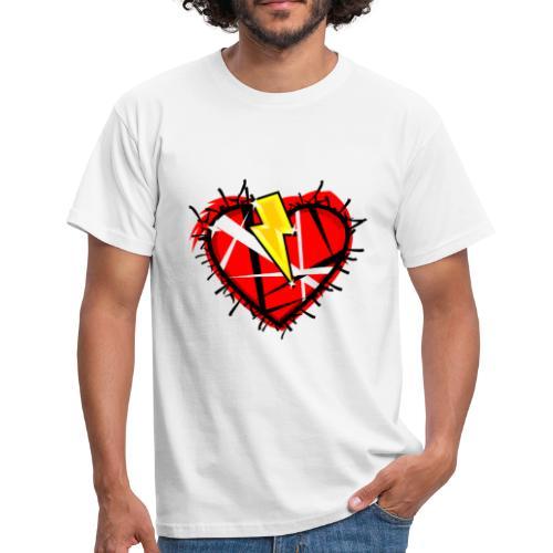 Rock Heart - Maglietta da uomo