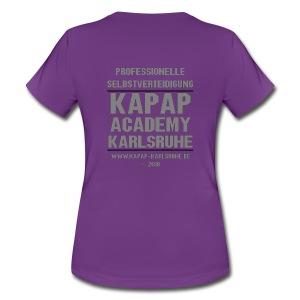 Damen T-Shirt KAPAP ACADEMY Karlsruhe 2018 - Frauen T-Shirt
