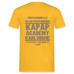 T-Shirt KAPAP ACADEMY Karlsruhe 2018 - Männer T-Shirt