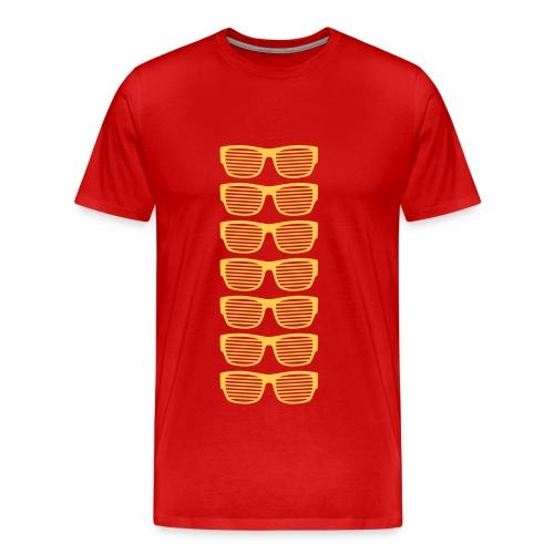 Sonnenbrillen Sommer strahlend taghell ultra cool - Männer Premium T-Shirt