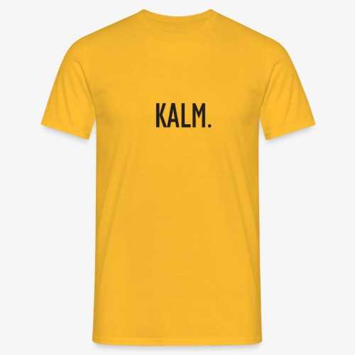 KALM. Basic T-shirt - Men's T-Shirt