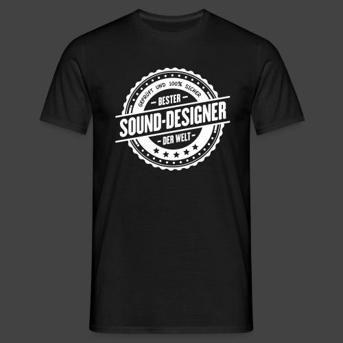Bester Sound Designer Der Welt - Männer T-Shirt
