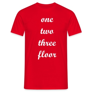 1 2 3 FLOOR - Men's T-Shirt