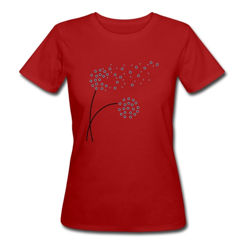 Shirt Pusteblume - Frauen Bio-T-Shirt
