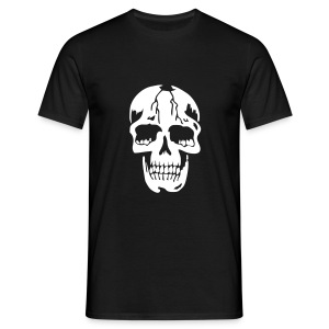 Cracked Skull men's T-shirt - Men's T-Shirt