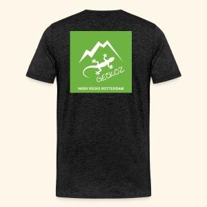 Geckoz Heren t-shirt - Mannen Premium T-shirt