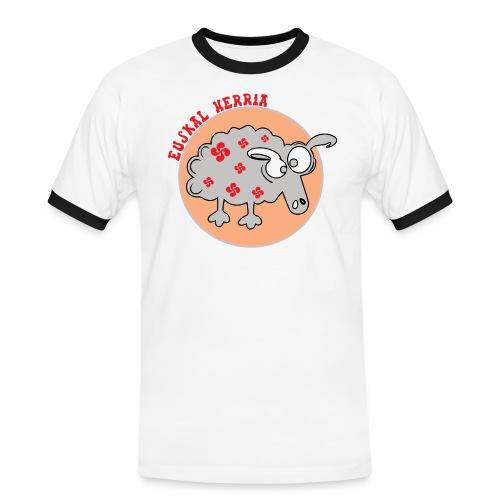 Mouton Euskal Herria - T-shirt contrasté Homme