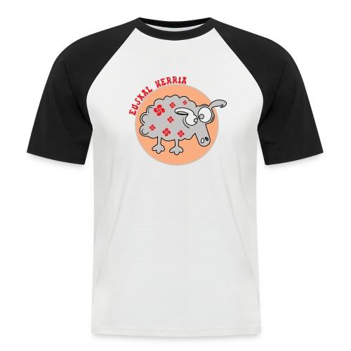 Mouton Euskal Herria - T-shirt baseball manches courtes Homme